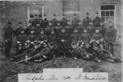 Militaire dienst 1905 links