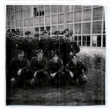 1961 102 RHB legerpl. 't Harde appel paraatweekend