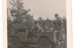 1961  102 RHB Eskadron van Alarm Pinksteren Verk.jeep