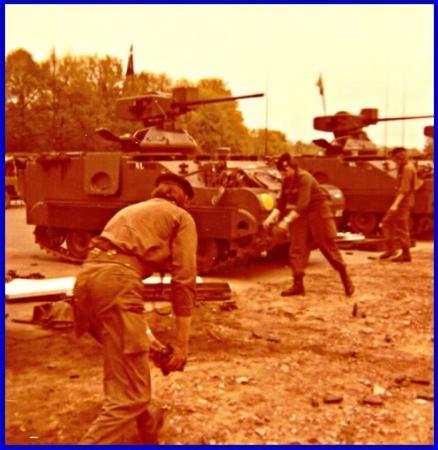 43 ZVE Schietserie Bergen Hohne 1978