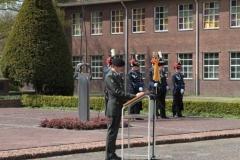 Dodenherdenking Cavalerie 03-05-2013 14
