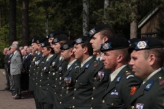 Dodenherdenking Cavalerie 03-05-2013 18