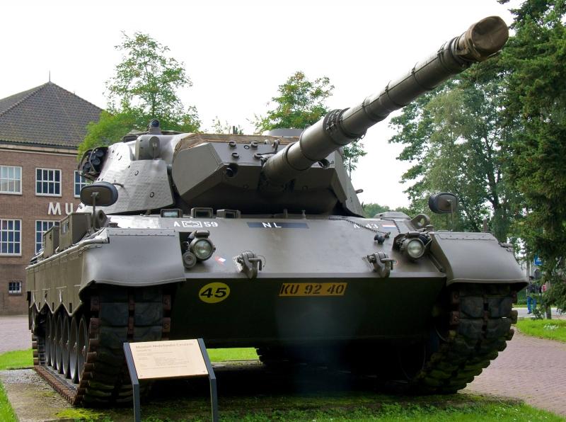 Leopard 1, een museumstuk.